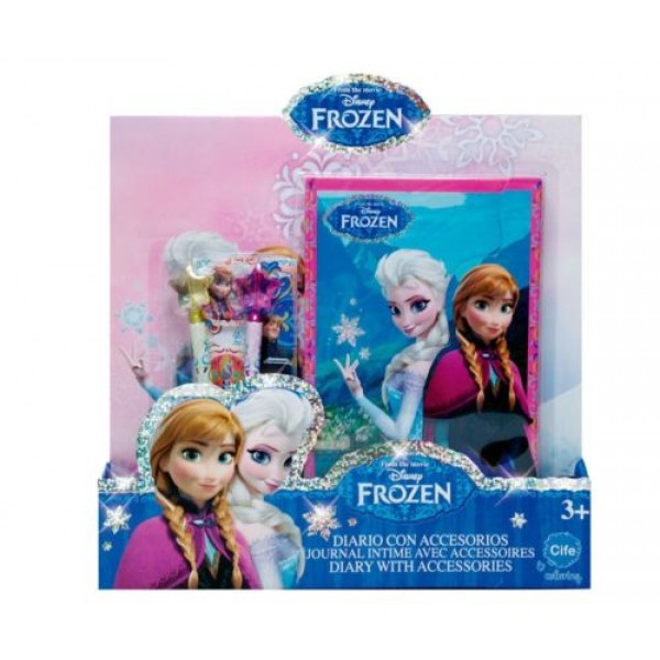 Дневник Холодное Сердце (Frozen) с аксессуарами, 66056