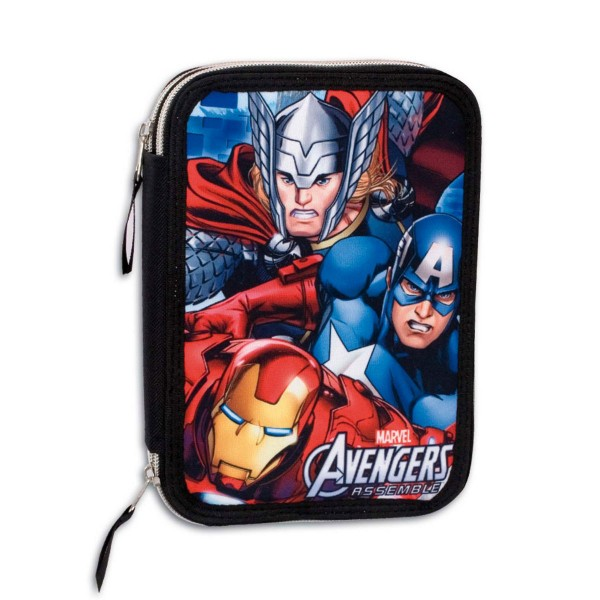 Пенал двойной с наполнением Мстители (Avengers) Marvel, 56734