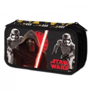Пенал Star Wars, тройной, с наполнением, TW911000
