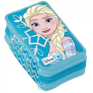 Пенал тройной с наполнением Frozen (Холодное Сердце)