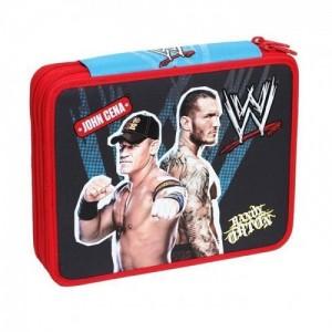 Пенал WWE, двойной, с наполнением