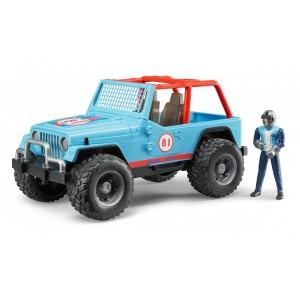 Джип гоночный Jeep Cross Country Racer с фигуркой, 02541 Bruder