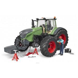 Трактор Fendt 1050 Vario с фигуркой механика, Bruder 04041