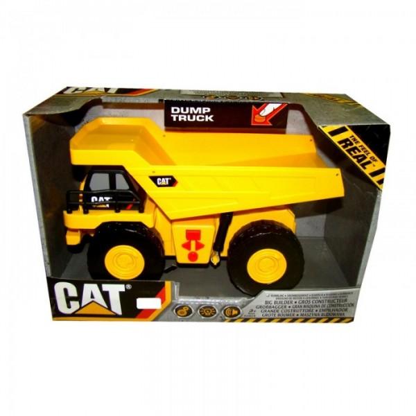 Caterpillar Самосвал Dump Truck со звуковыми и световыми эффектами