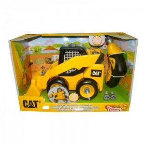Caterpillar - Моторизированный Skid Steer с набором инструментов