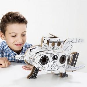 TO DO Картонный 3D-конструктор - Ракета
