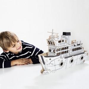 TO DO Картонный 3D-конструктор - Круизный лайнер