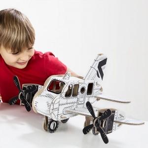 TO DO Картонный 3D-конструктор - Самолет