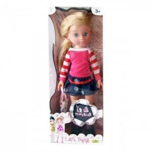 Кукла Le Monelle с сумочкой - блондинка