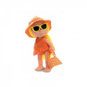 Кукла Le Monelle оранжевая