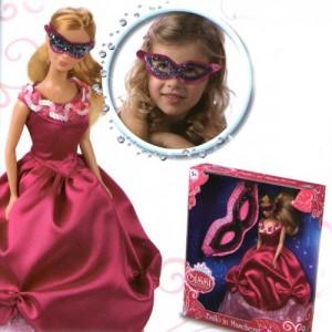 Кукла Sissi с маскарадной маской