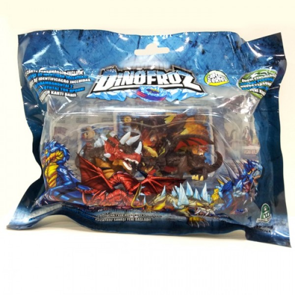 Dinofroz Набор - 2 мини-фигурки