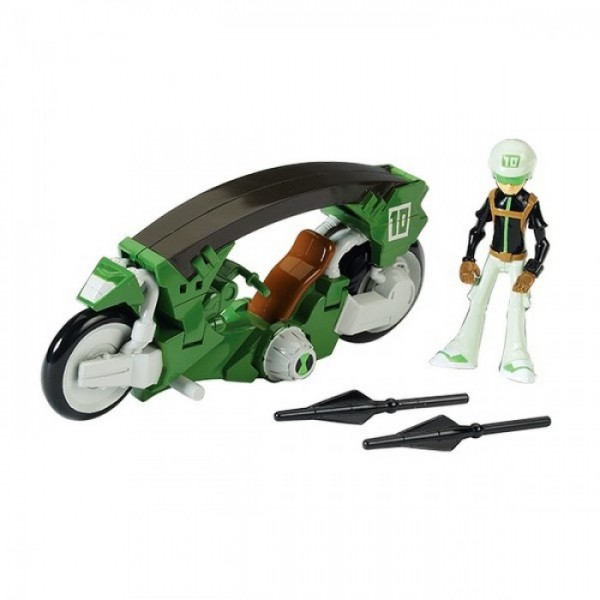 BEN 10 Omniverse - мотоцикл + фигурка
