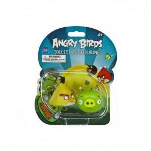 Набор Angry Birds (жёлтая+зелёная)