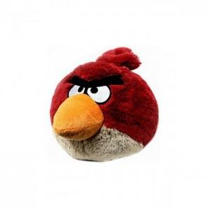 Плюшевый Angry Birds красный 10 см