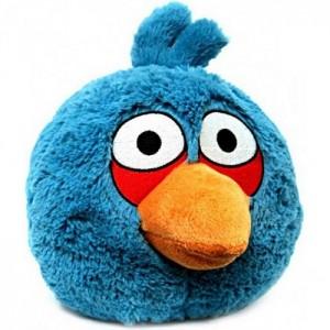 Плюшевый Angry Birds синий 20 см