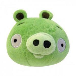 Плюшевый Angry Birds зеленый 20 см