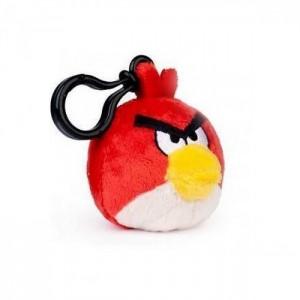 Брелок Angry Birds красный
