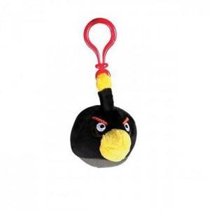 Брелок Angry Birds черный