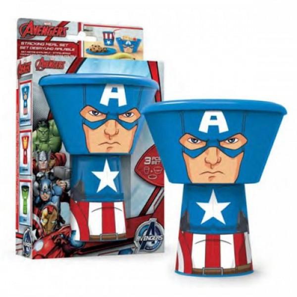 Набор для завтрака Capitain America Marvel, 38775