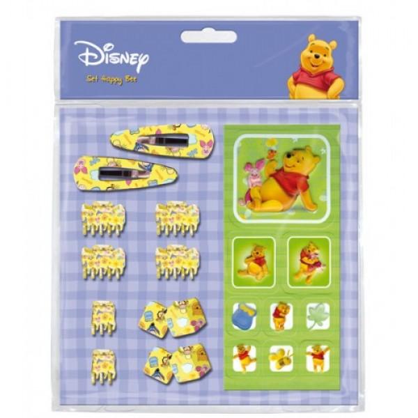 Набор заколок и наклеек Winnie The Pooh