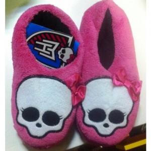 Monster High Тапочки для дома розовые, 53441
