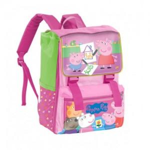 Рюкзак школьный ортопедический Peppa Pig (Свинка Пеппа) вместительный и удобный