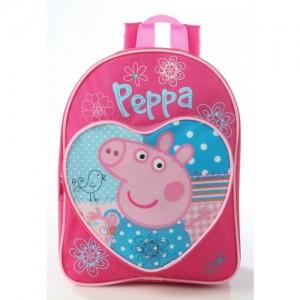 Рюкзачок Peppa Pig (Свинка Пеппа) розовый для прогулки