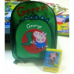 Рюкзачок George + кошелек - Peppa Pig
