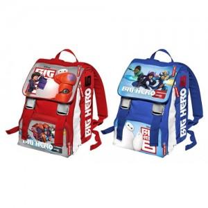 Рюкзак школьный с ортопедической спинкой Big Hero 44 см