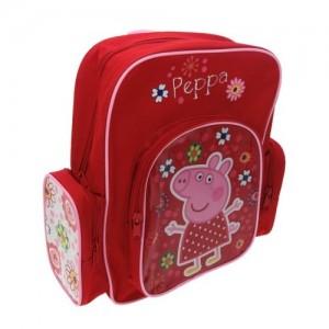 Рюкзачок Peppa Pig(Свинка Пеппа) красный удобная ручка