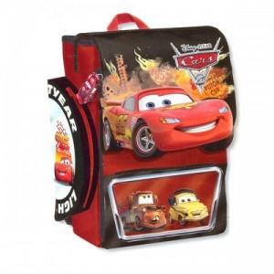Рюкзак Cars (Тачки) школьный с дорожкой треком, 28,5 см
