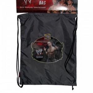 Рюкзак WWE для сменной обуви, спортивной одежды черный