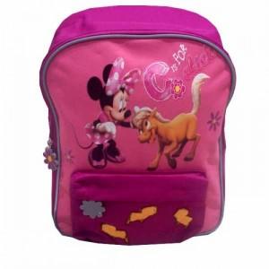 Рюкзак Minnie школьный розовый, 34 см