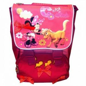 Рюкзак школьный ортопедический расширяемый Minnie розовый