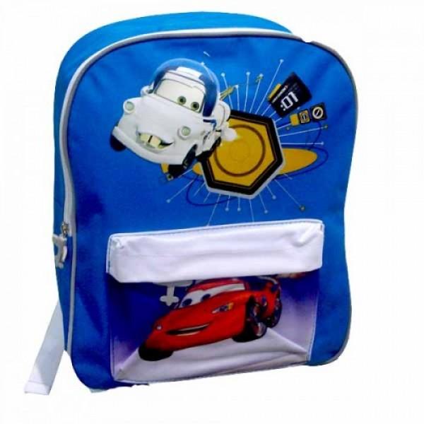 Рюкзак Cars (Тачки) школьный синий, 34 см