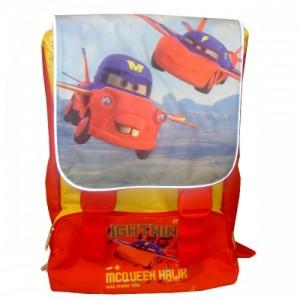 Рюкзак школьный ортопедический расширяемый Cars - Mcqueen Hawk