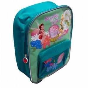 Рюкзак Fairies (Лесные Феи) школьный зеленый, 34 см
