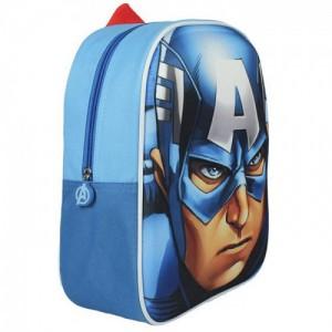 Рюкзак Капитан Америка 3D 31 см