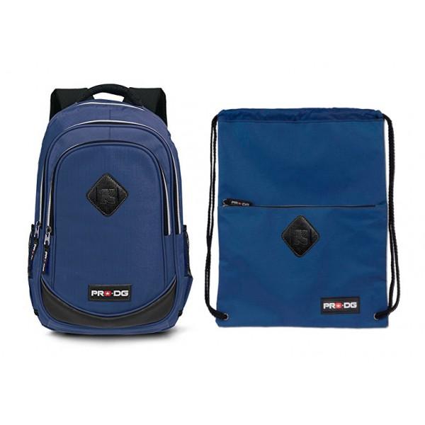 """Рюкзак + сумка для обуви """"Pro DG"""" - Синий, 37719"""
