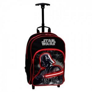 Рюкзак, чемодан на колесах Star Wars (Звездные войны) для мальчика