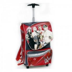 "Рюкзак, чемодан на колесах - ""WWE""+ подарок"