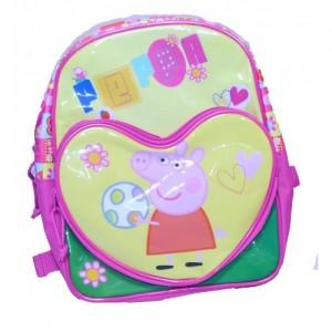 Рюкзачок Peppa Pig (Свинка Пеппа) для первоклашки на молнии