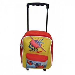 Рюкзак Cars - Fly (Тачки - Самолеты) школьный на колесах, красный