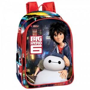 Рюкзак Big Hero 6 школьный для мальчика, 43см