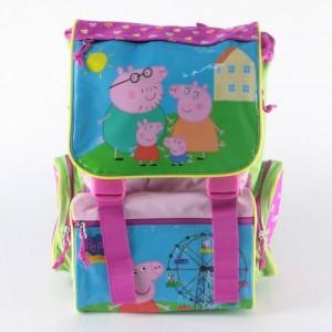 Рюкзак школьный ортопедический Peppa Pig (Свинка Пеппа) замок-защелка для девочки