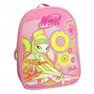 Рюкзачок Winx (Винкс) для девочки розовый, 28 см