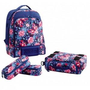 Рюкзак, чемодан на колесах XROLLEY для девочек, XR901000