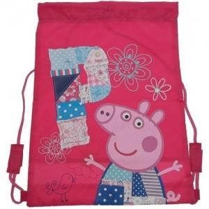 Рюкзак для обуви Peppa Pig (Свинка Пеппа) мешок для спортивной одежды