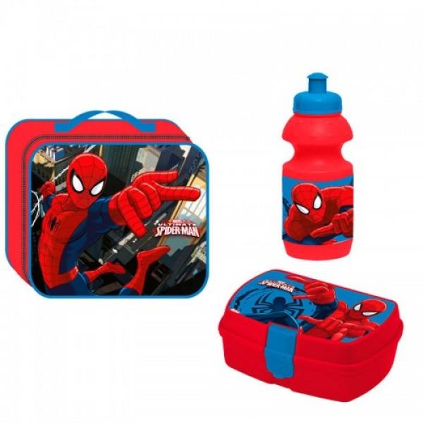 Набор для школьных обедов Человек Паук (Spiderman)